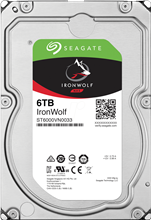 Seagate ST6000VN0033 IronWolf 6TB 256MB Cache Internal Hard Drive